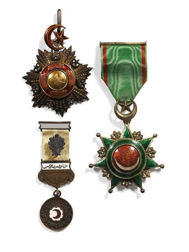 Antika Madalya Alanlar