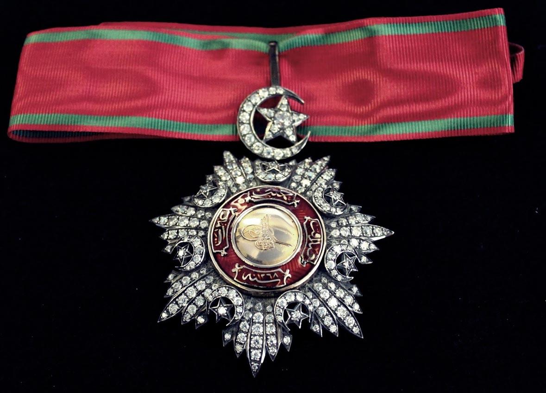 Osmanlı Madalya Alanlar